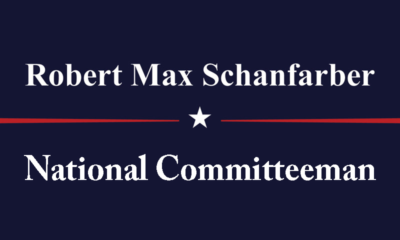 Robert Max Schanfarber for National Cometteeman